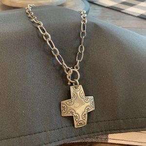 Silpada cross Necklace